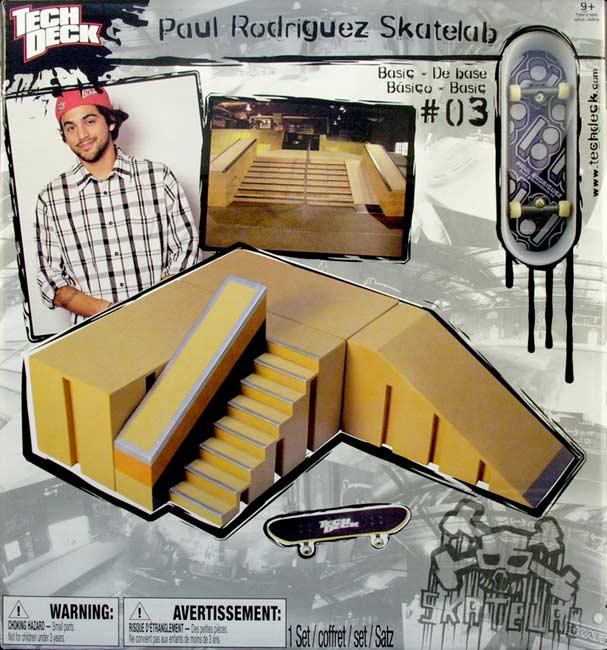 Tech Deck Paul Rodriguez Skatelab # 03