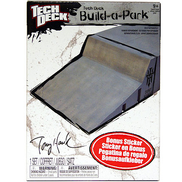 Tech Deck Build-a-Park Wall RIde
