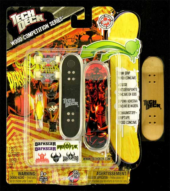 Fingerboard Wood Competition Series Tech Deck Darkstar