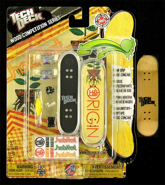 Fingerboard Wood Competition Series Tech Deck Habitat