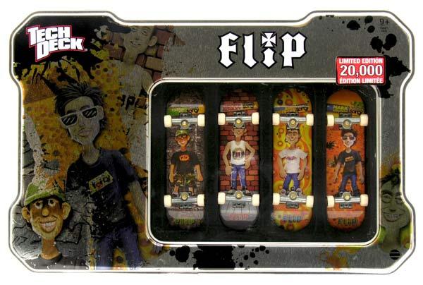 Puszka Tech Deck 4 Pack Flip