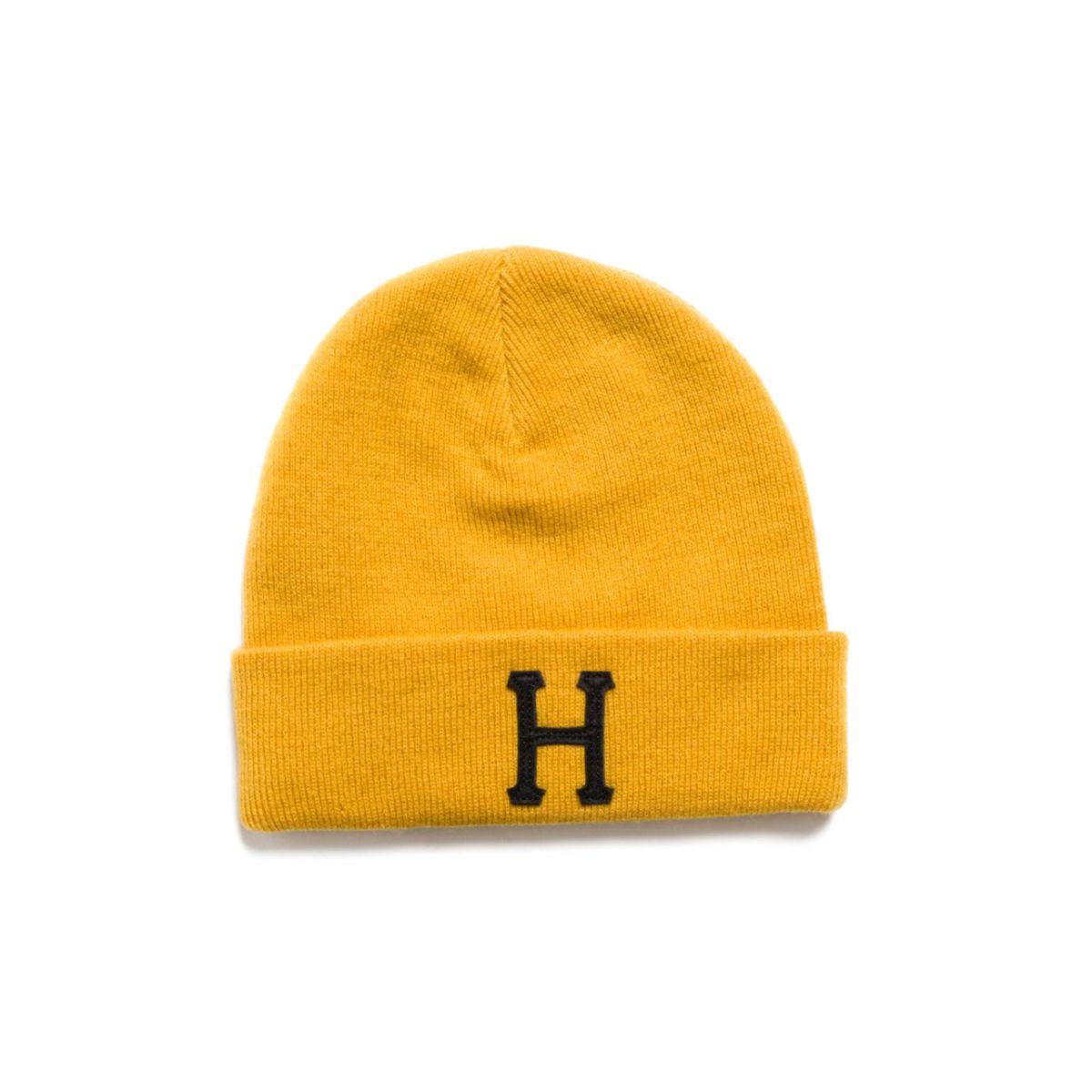"Czapka zimowa HUF Classic ""H"" Gold"
