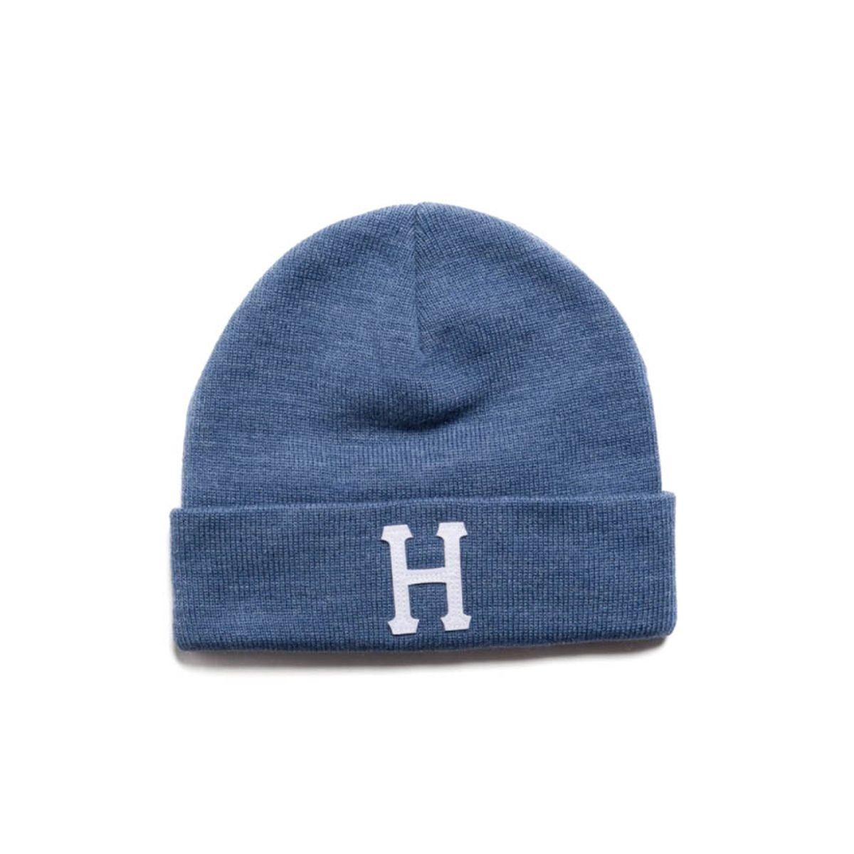 """Czapka zimowa HUF Classic """"H"""" Denim Heather"""
