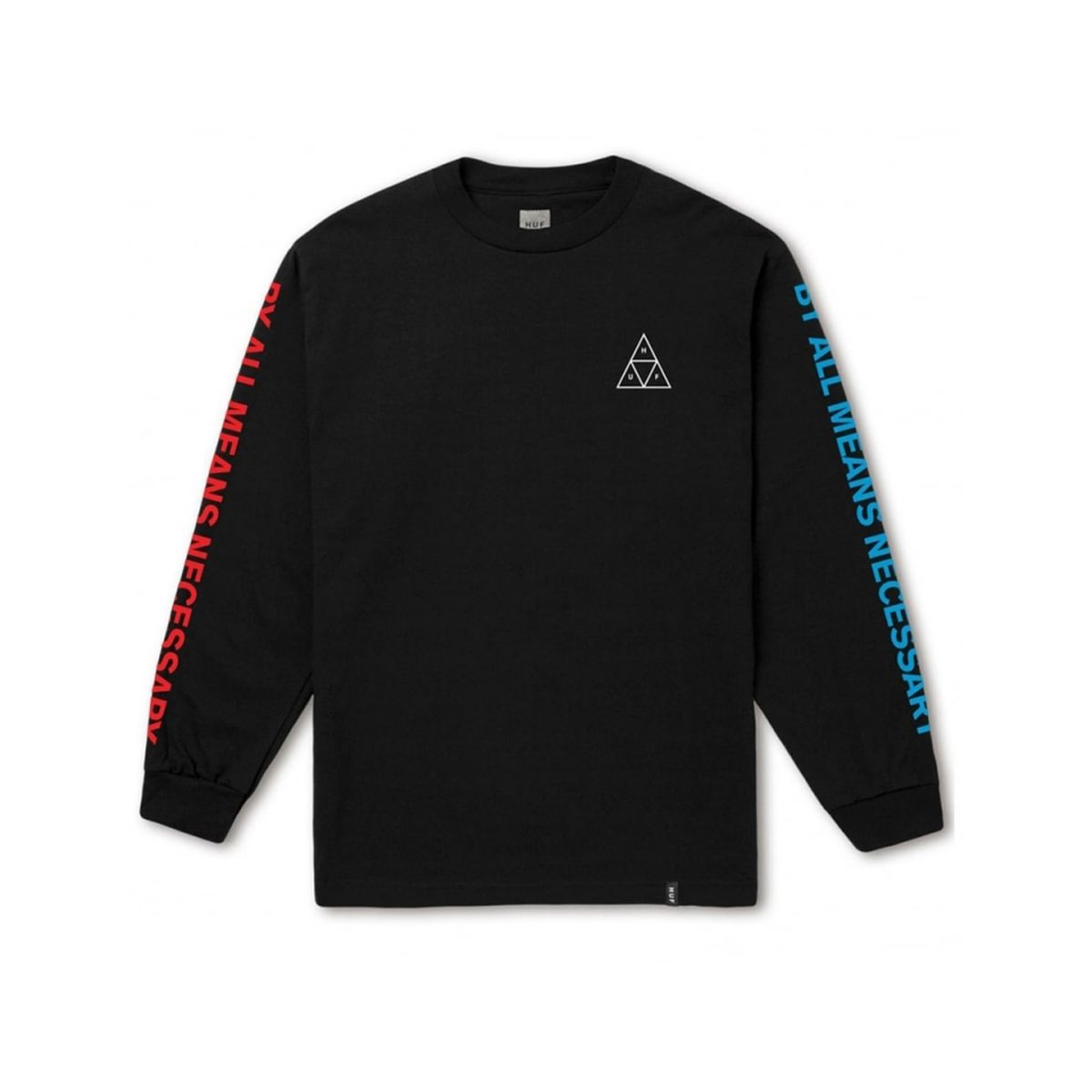 Longsleeve HUF Multi Triple Triangle Black