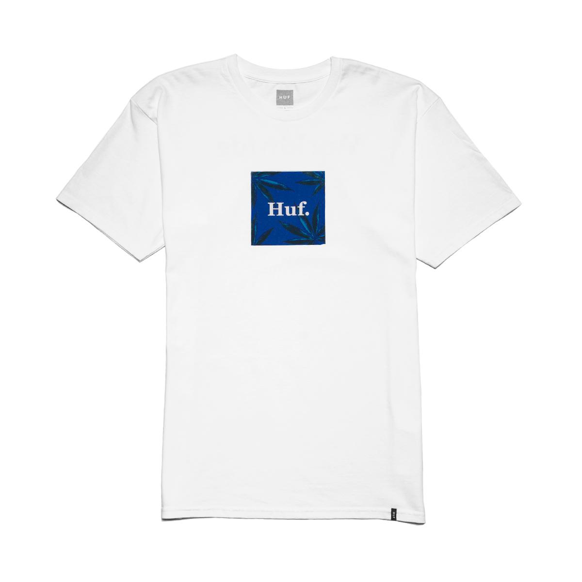 Koszulka HUF PLP S/S Woven Label White