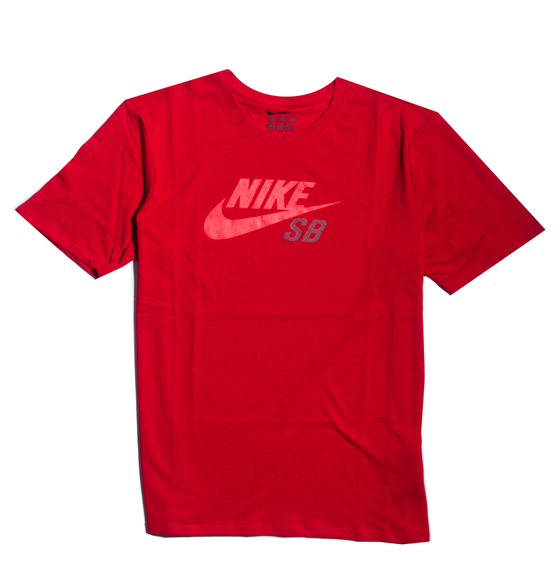 Koszulka Nike SB Dri Fit Icon Gym Red / Team Red