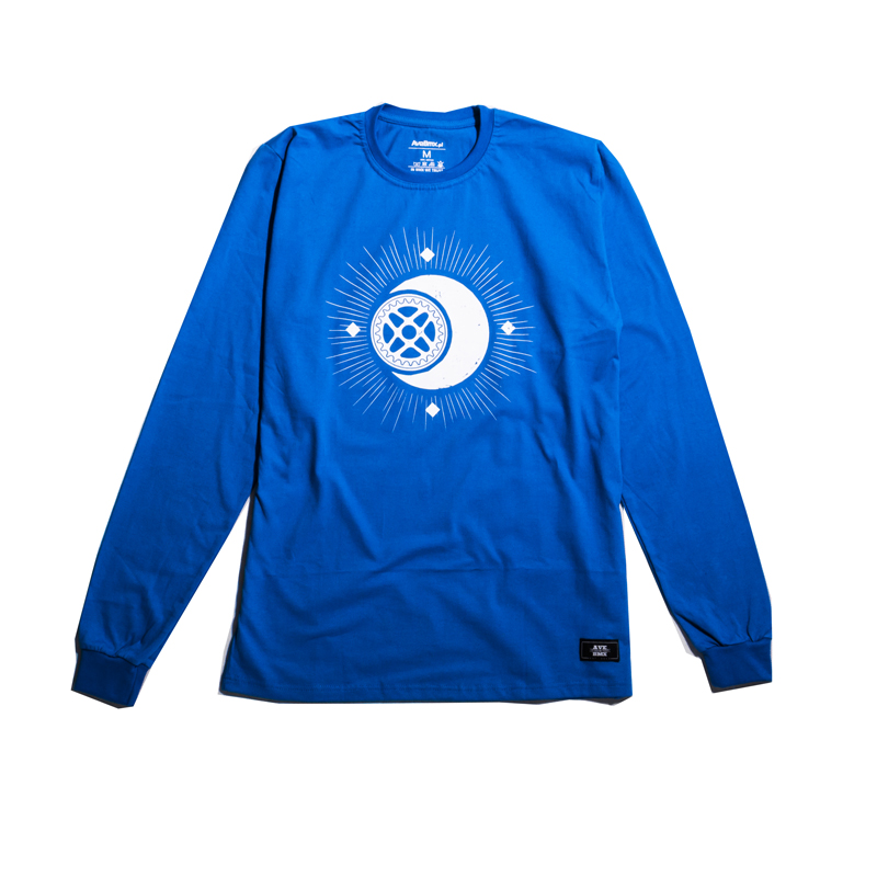 Longsleeve Ave Bmx Moonshine Blue