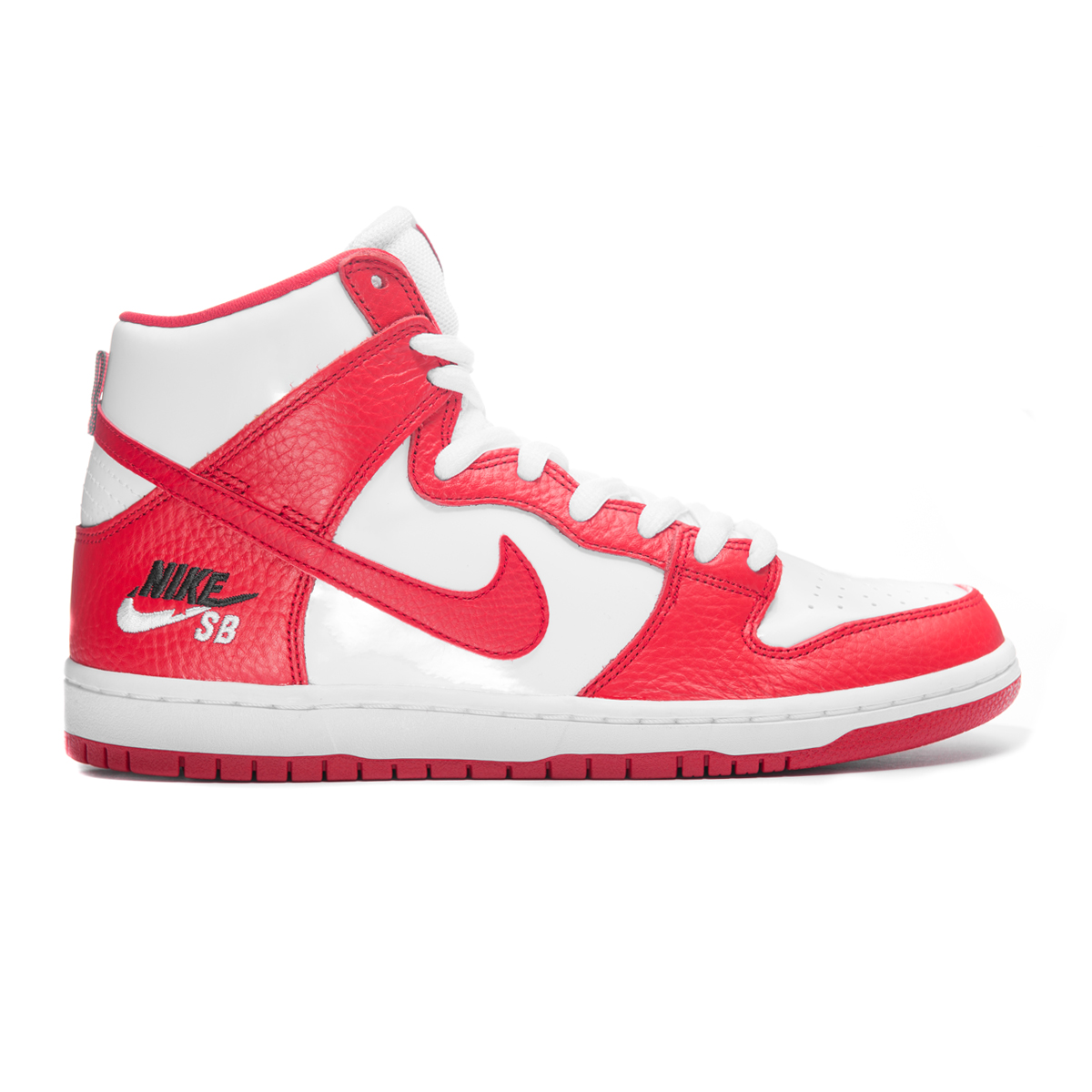 Buty Nike SB Zoom Dunk High Pro University Red / White