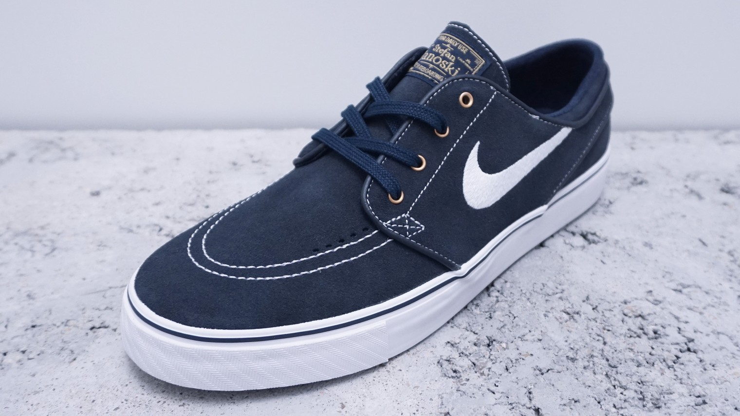 nike sb zoom stefan janoski dark obsidian wei. Black Bedroom Furniture Sets. Home Design Ideas