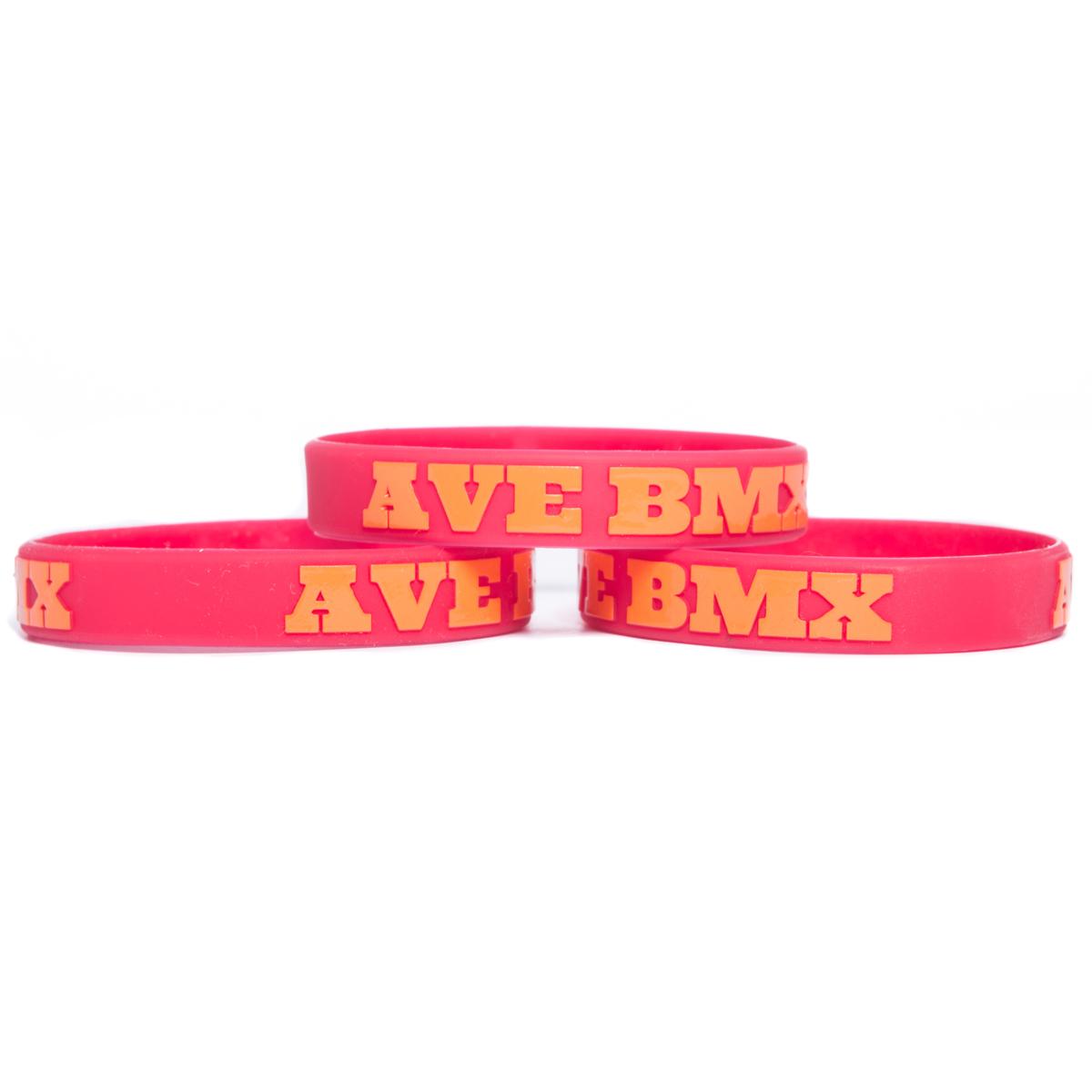 Opaska Ave BMX Candy Red / Orange