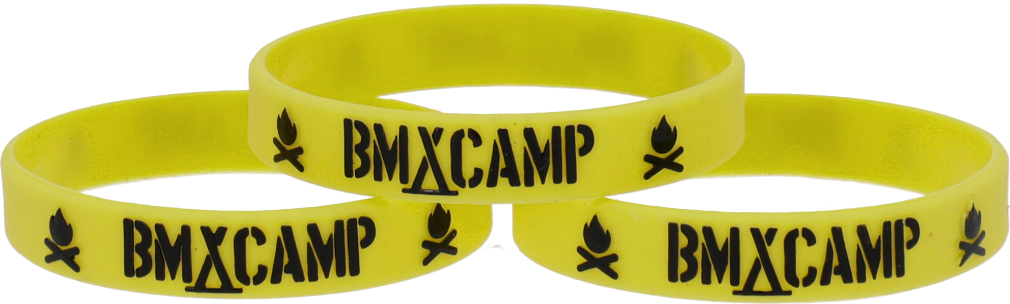 Opaska BMX CAMP Yellow / Black