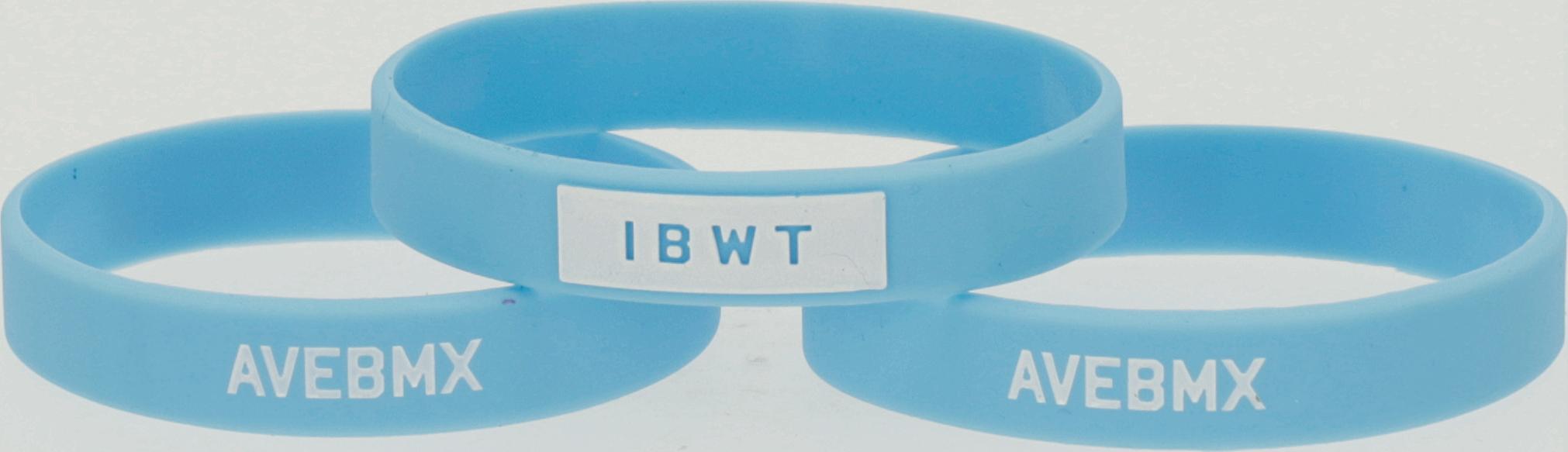 Opaska Ave BMX IBWT Blue