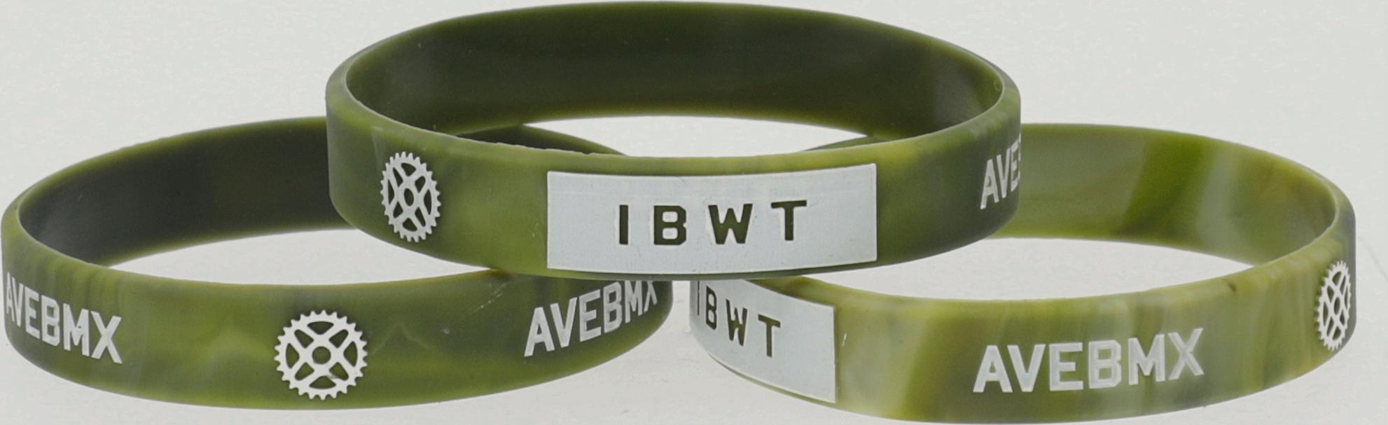 Opaska Ave BMX IBWT Green Camo