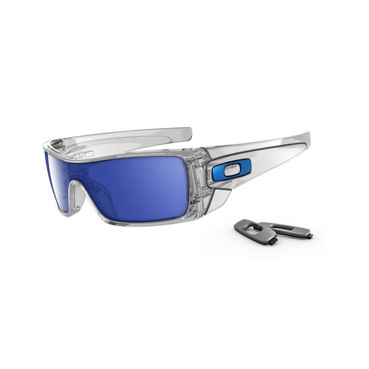 Okulary Oakley Batwolf Polished Clear / Ice Iridium