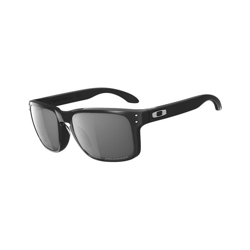 Okulary Oakley Holbrook Polished Black / Grey Polarized
