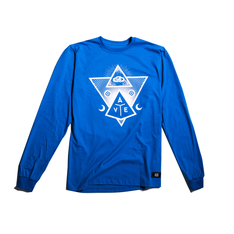 Longsleeve Ave Bmx Revelation Blue