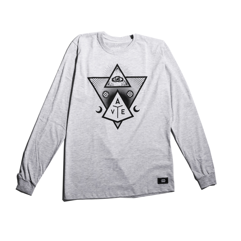 Longsleeve Ave Bmx Revelation Grey