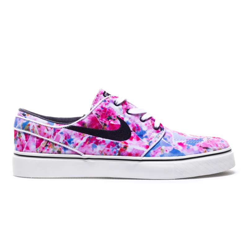 Buty Nike SB Zoom Stefan Janoski Canvas Premium Dynamic Pink / Black - White - Gum Light Brown