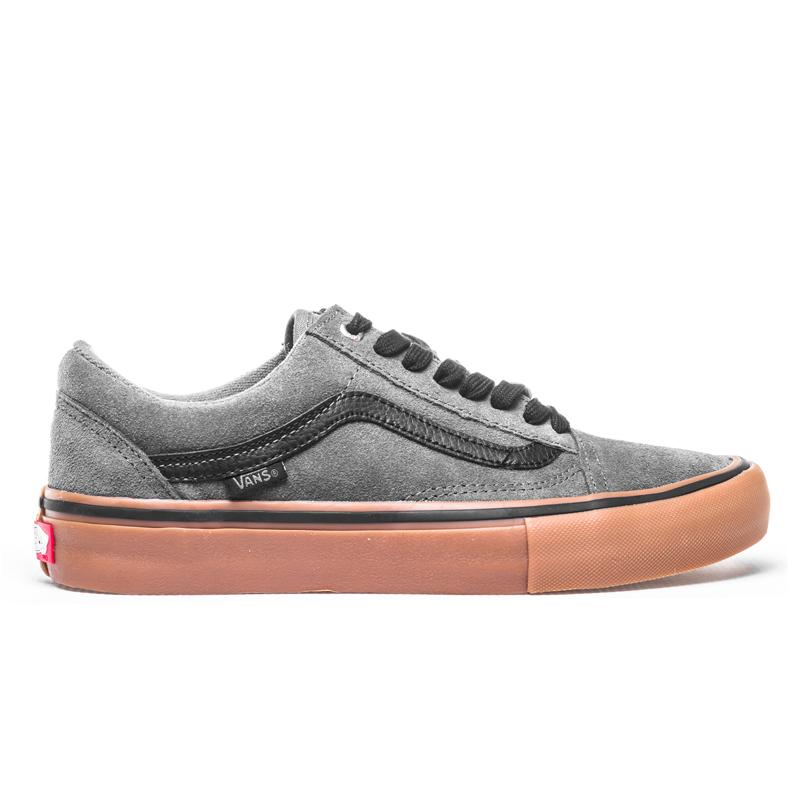 b36afcb53396b6 Buty Vans Old Skool PRO Grey   Black   Gum Kliknij zdjęcie aby powiększyć