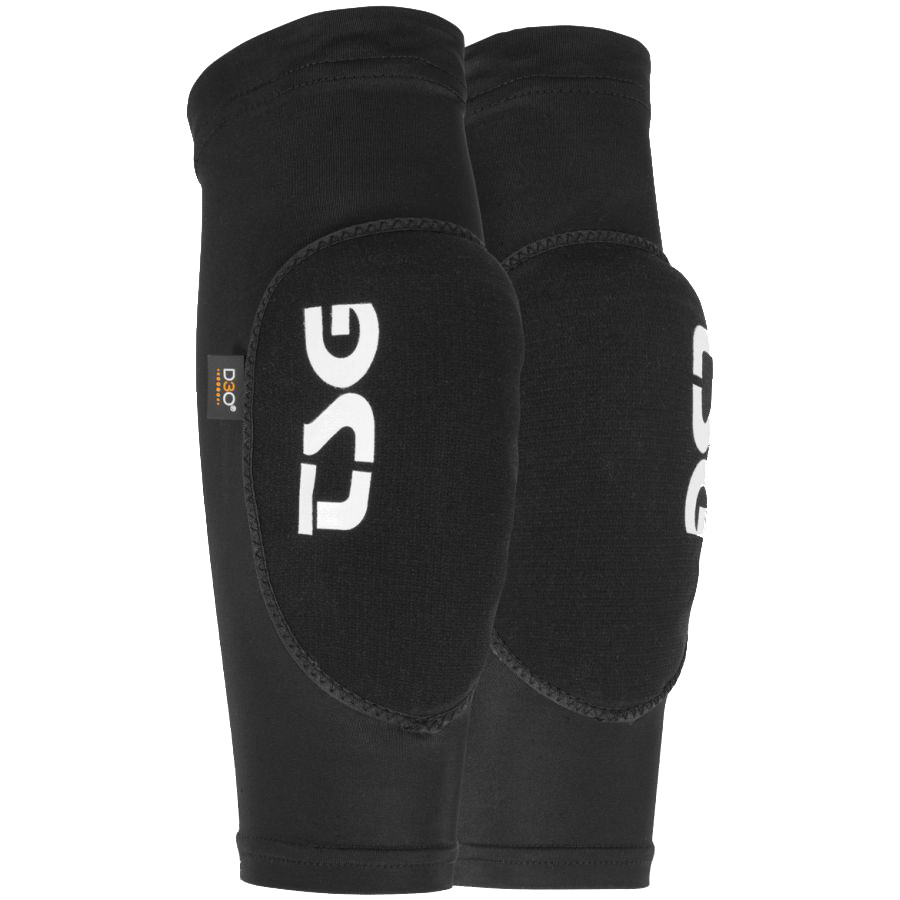 TSG Knee Sleeve 2nd Skin D3O S//M Black Knee Pads for Bicycle
