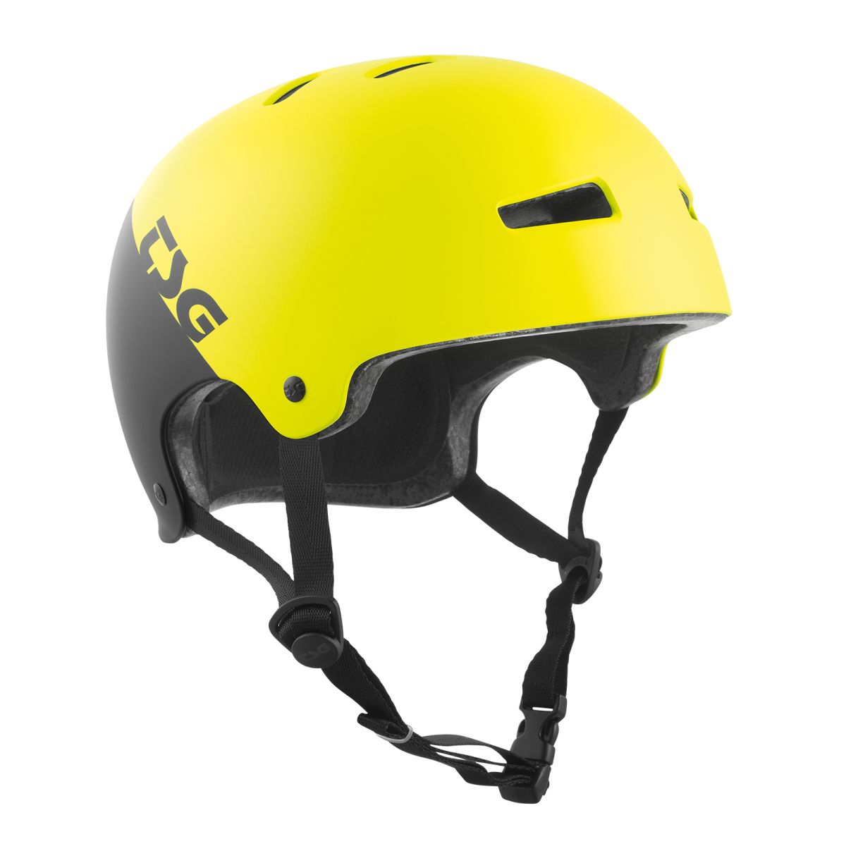 Kask TSG Evolution Youth Graphic Design Divided Acid Yellow / Black