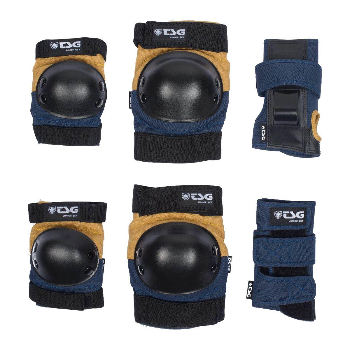 Zestaw ochraniaczy TSG Junior Set Blue / Yellow