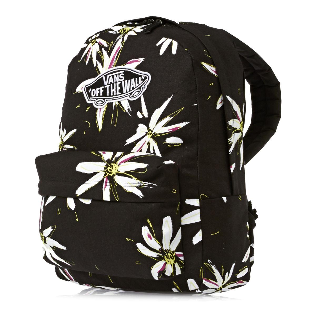 różne kolory sprzedaż obuwia Zjednoczone Królestwo Plecak Vans Realm Black / White