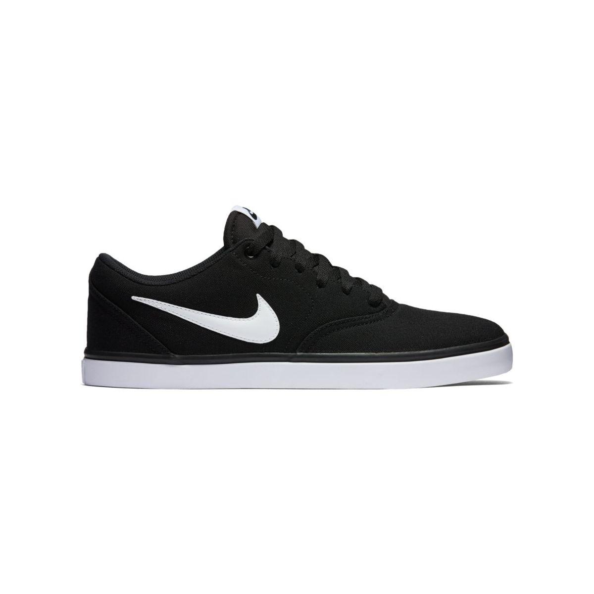 Buty Nike SB Check Solarsoft Canvas Black / White