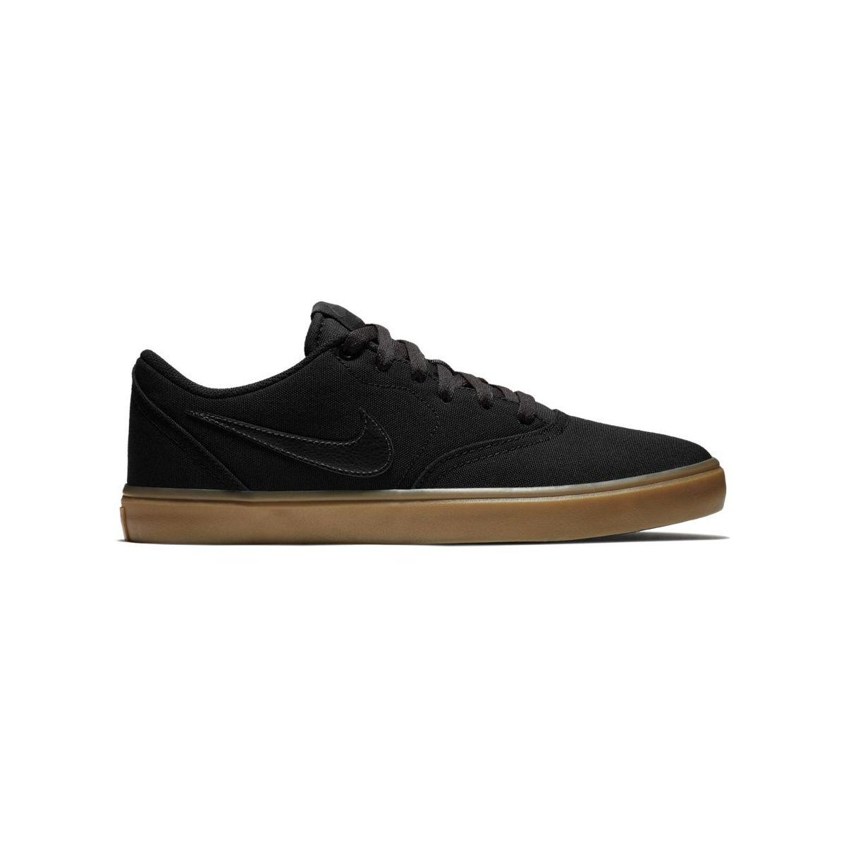 Buty Nike SB Check Solarsoft Canvas Black / Black-Gum Light Brown