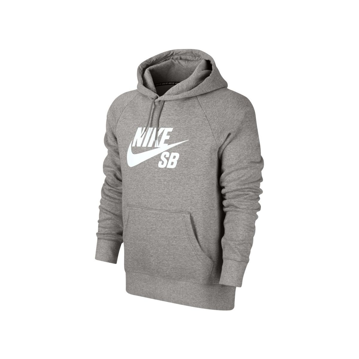 Bluza Nike SB Icon Hoodie Dark Grey Heather / White