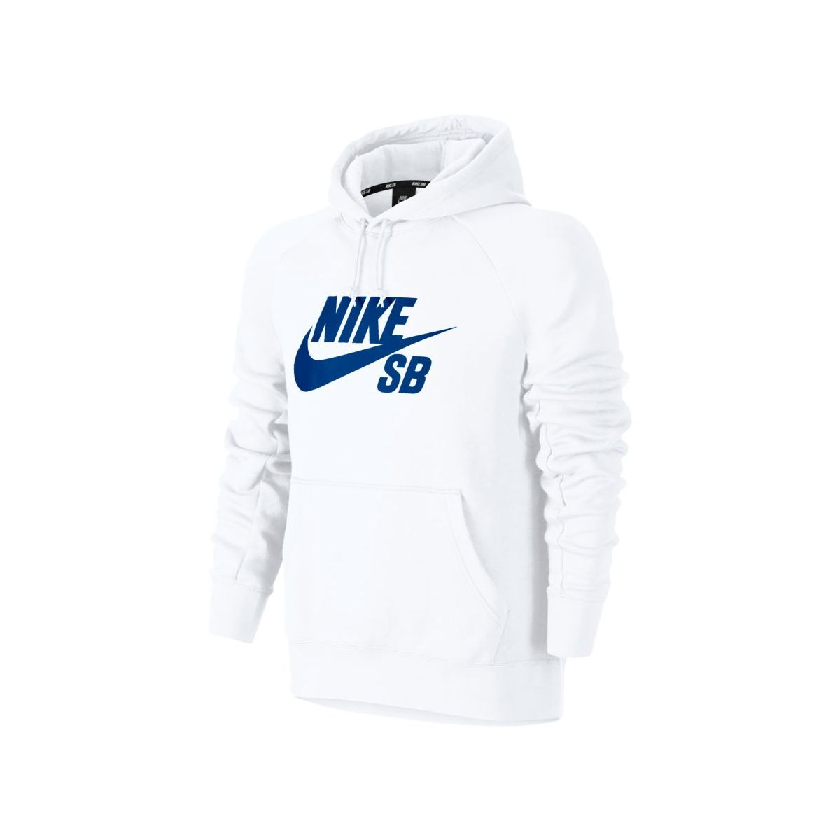 Bluza Nike SB Icon Hoodie White / Hyper Royal