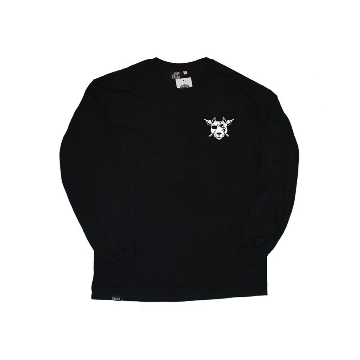 Longsleeve DUB Blazers Black