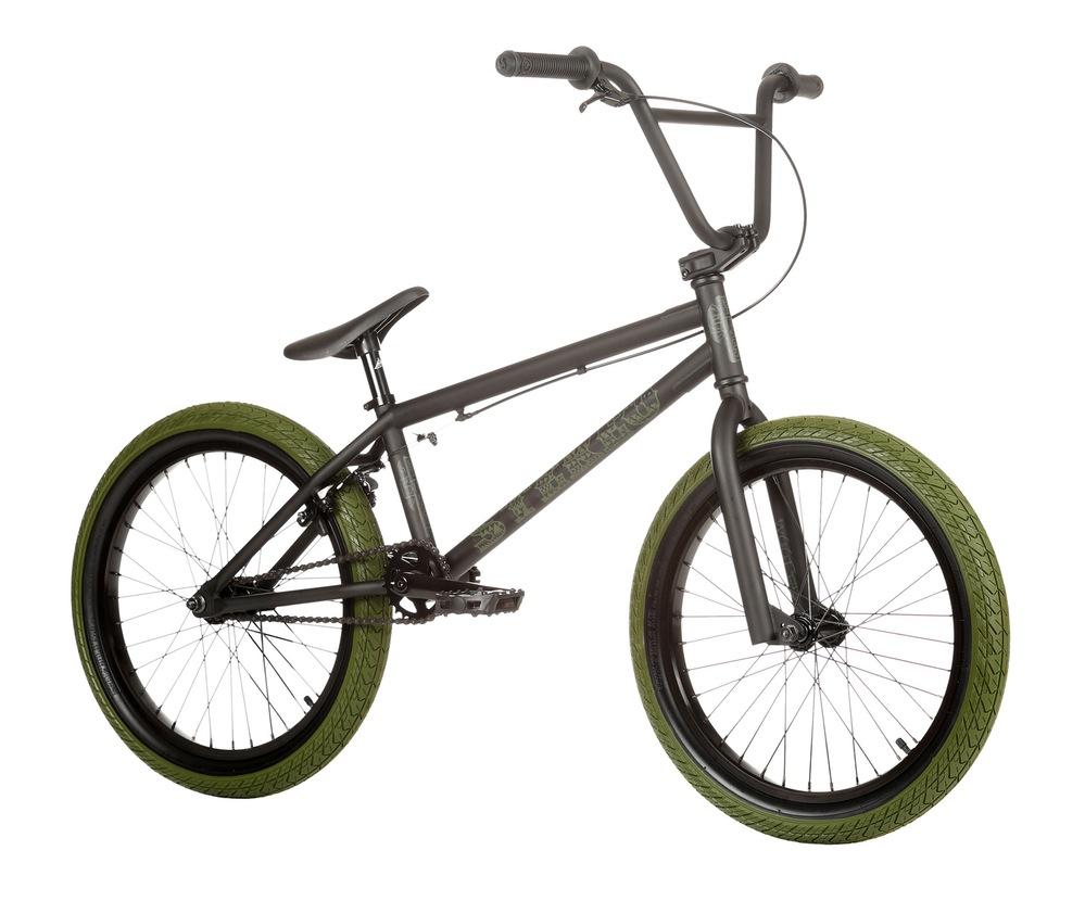 01e922e7fae22 Rower BMX Stereo Woofer 2016 Matt Army Black : Sklep AveBmx - rowery ...