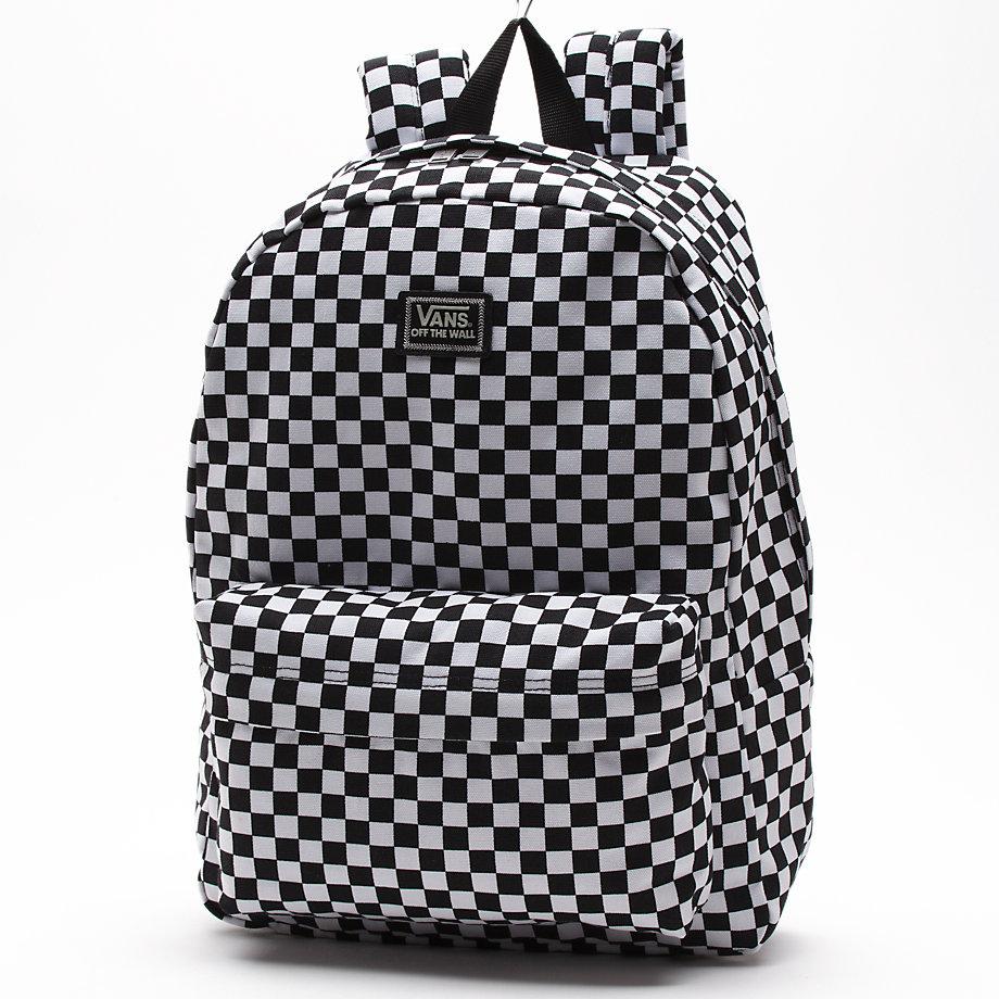 Plecak Vans Old Skool II Black / White Checker